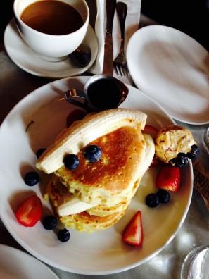 Ricotta Pancakes @ Five leaves