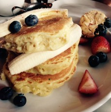 Fluffy pancakes @ Five leaves