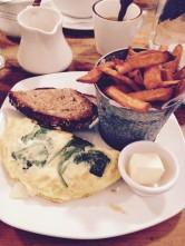 Veggie three-egg omelette @Penelope