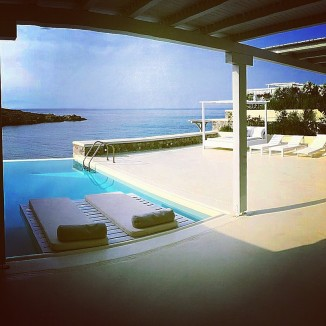 Casa del Mar - Terrace with Infinity Pool
