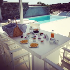 Casa del Mar - Breakfast in our terrace