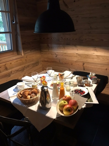 Breakfast to start the morning