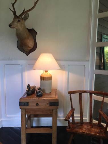 Details of the interiors at Huka Lodge